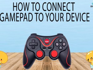 HOW TO CONNECT GAMEPAD TO YOUR DEVICE