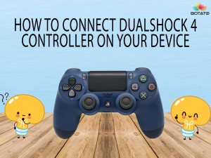 How to connect Dualshock 4 Controller to your device