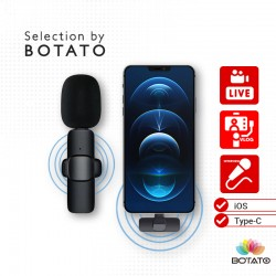 Wireless Microphone Iphone Android Phone PC Laptop For  interview , vlog ,live stream Type-C IOS